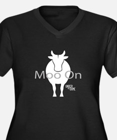 "Under the Dome ""Moo On"" Plus Size T-Shirt"