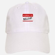 Allergic To Bullshit Baseball Baseball Baseball Cap