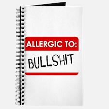 Allergic To Bullshit Journal