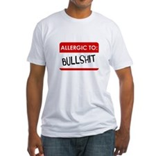 Allergic To Bullshit T-Shirt