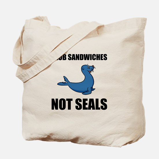 Club Sandwiches Not Seals Tote Bag