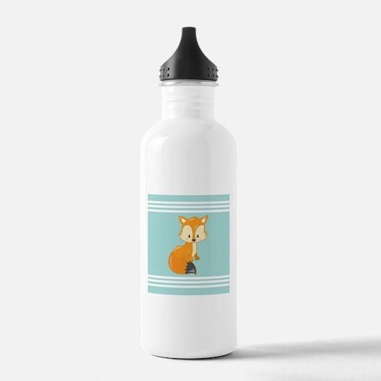 Cute Baby Fox Aqua Str Water Bottle