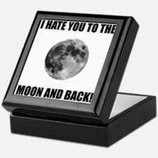 Hate To The Moon Keepsake Box
