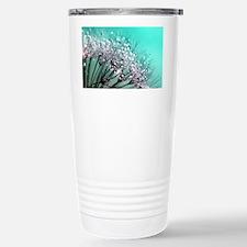 Sparkling Blue Stainless Steel Travel Mug