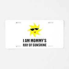 Mommys Sunshine Aluminum License Plate