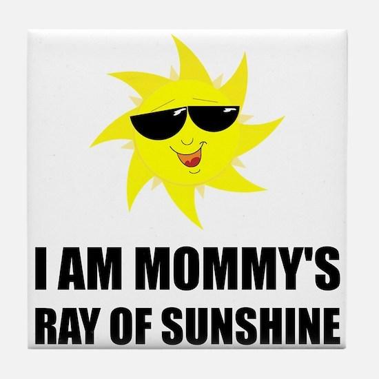 Mommys Sunshine Tile Coaster