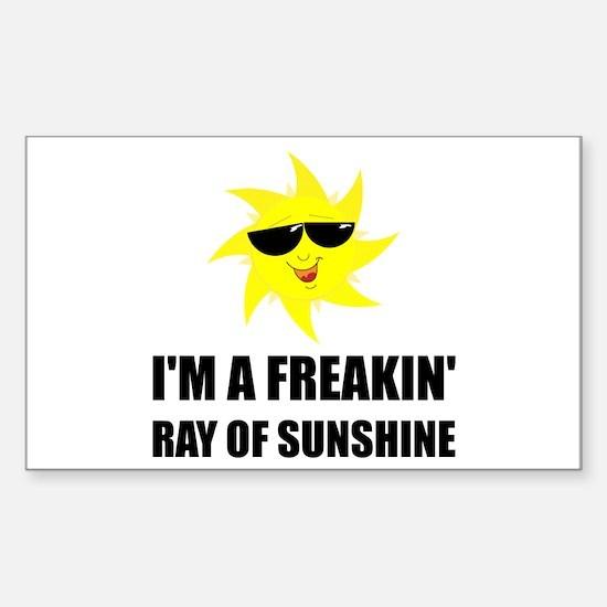 Ray Of Sunshine Decal