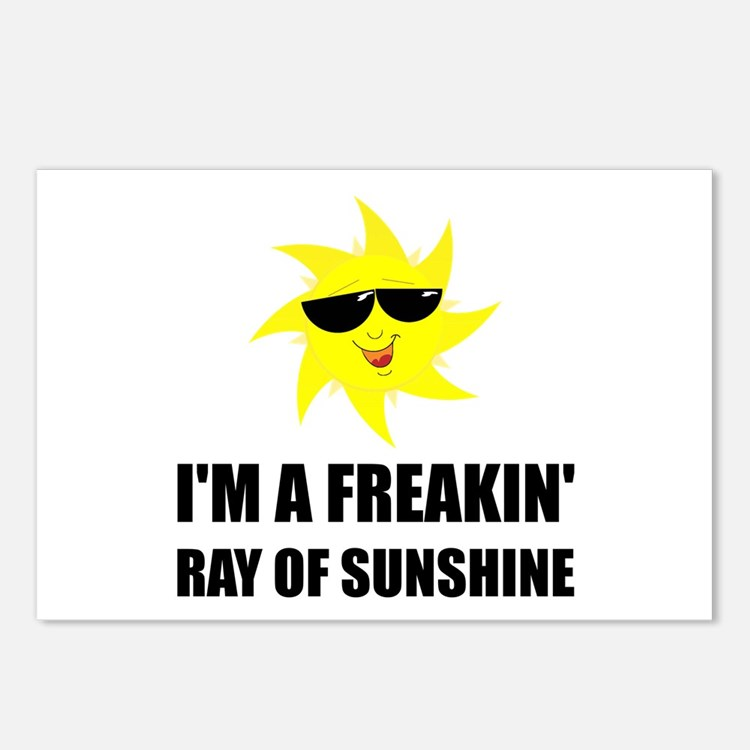 Ray Of Sunshine Postcards (Package of 8)