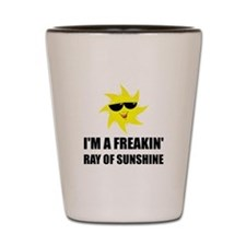 Ray Of Sunshine Shot Glass