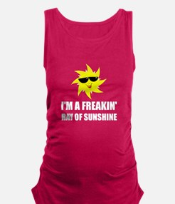 Ray Of Sunshine Maternity Tank Top