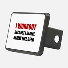 Workout Beer Hitch Cover