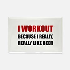 Workout Beer Magnets