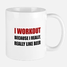 Workout Beer Mugs