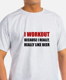 Workout Beer T-Shirt