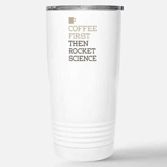 Rocket Science Stainless Steel Travel Mug