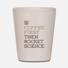 Rocket Science Shot Glass