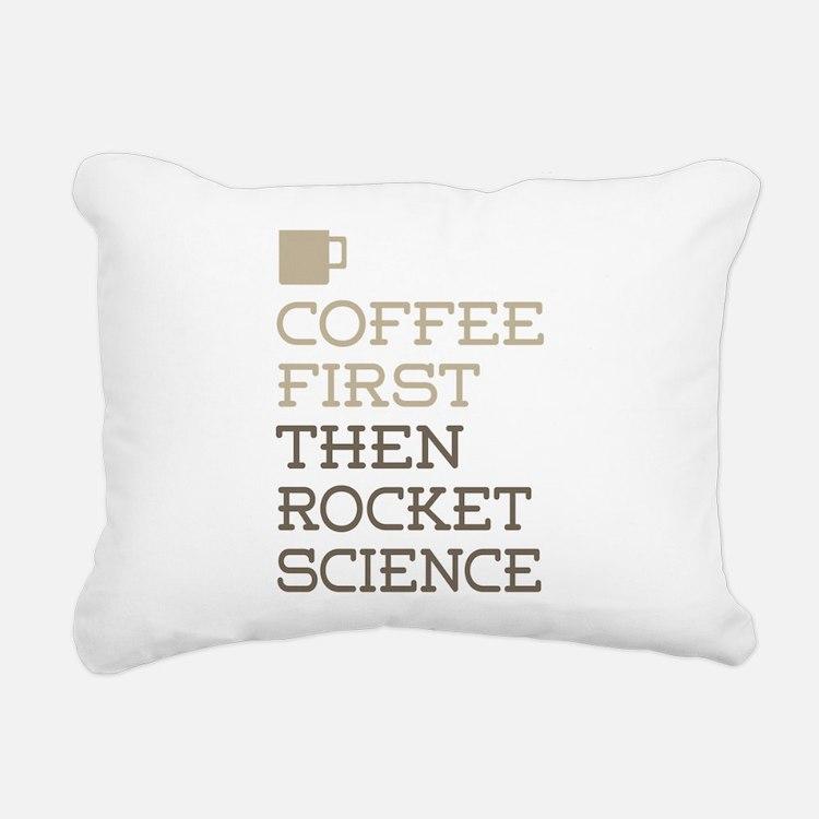 Rocket Science Rectangular Canvas Pillow