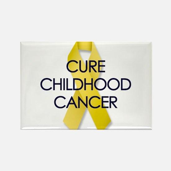 CURE CHILDHOOD CANCER Rectangle Magnet