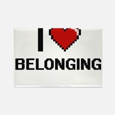 I Love Belonging Digitial Design Magnets