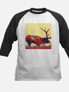 vintage western country elk Baseball Jersey