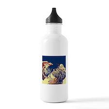 vintage american wild Water Bottle