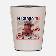 El Chapo '16 Shot Glass