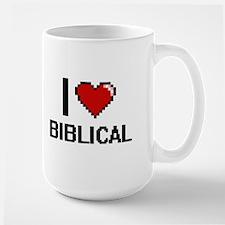 I Love Biblical Digitial Design Mugs