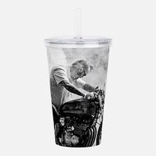 Smoke Rider Acrylic Double-wall Tumbler