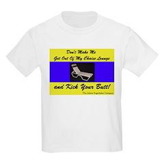 Chaise Lounge Butt Kids T-Shirt