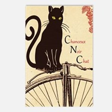 Lucky Black Cat Postcards (Package of 8)