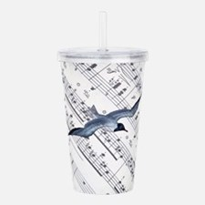 modern ocean nautical Acrylic Double-wall Tumbler