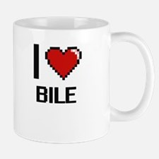I Love Bile Digitial Design Mugs