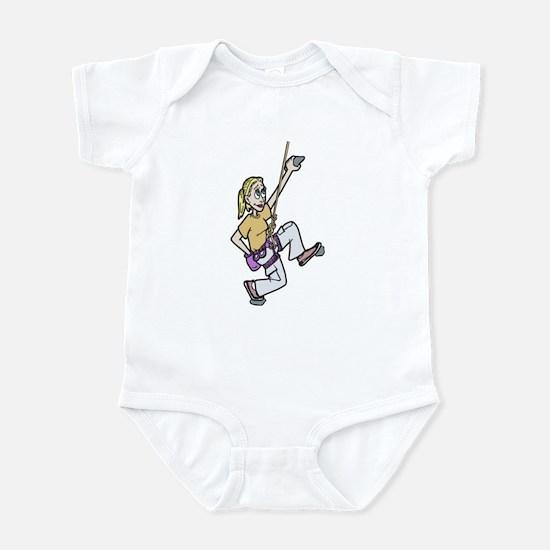 Girl Climbing Infant Bodysuit