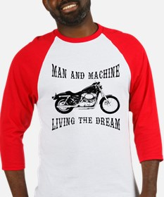 Man & Machine Baseball Jersey