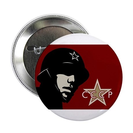 Soviet Soldier Button