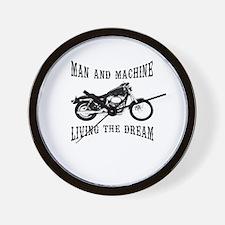 Man & Machine Wall Clock