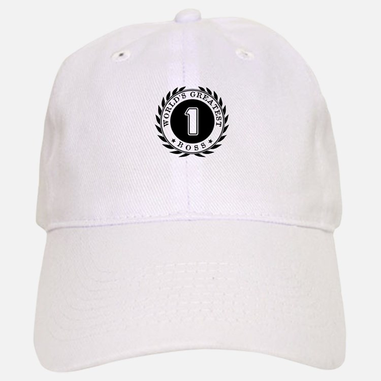 World's Greatest Boss Baseball Baseball Cap
