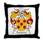 Bardudo Family Crest Throw Pillow