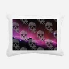 Cute Purple skull Rectangular Canvas Pillow