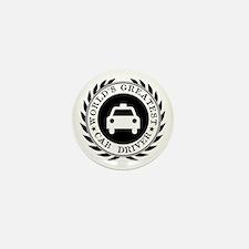 World's Greatest Cab Driver Mini Button