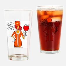 Unique Delta airlines Drinking Glass