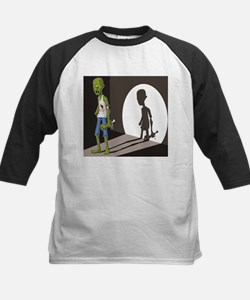 Zombie In Spotlight Baseball Jersey