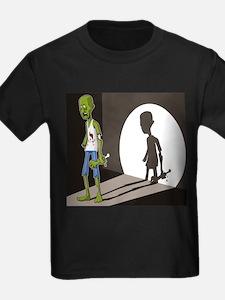 Zombie In Spotlight T-Shirt