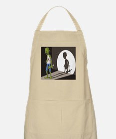 Zombie In Spotlight Apron
