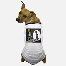 Zombie In Spotlight Dog T-Shirt