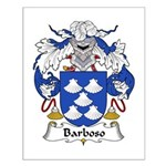 Barboso Family Crest Small Poster
