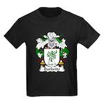 Barbeito Family Crest  Kids Dark T-Shirt