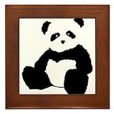 panda Framed Tile
