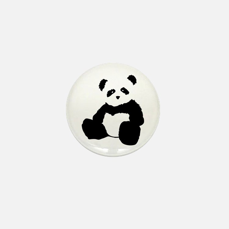 panda Mini Button