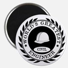 World's Greatest Civil Engineer Magnets